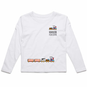 Front and Back Print Light - Kids Longsleeve Tee Thumbnail