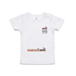Front and Back Print Light - Kids Wee Tee Thumbnail