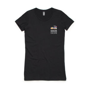 Front Print Dark - Womens Wafer T shirt  Thumbnail